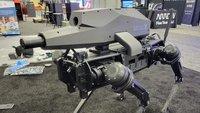 Einfach gruselig: Roboterhund mit Scharfschützengewehr ausgestattet