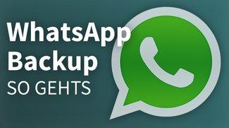 WhatsApp: Backup erstellen, Daten sichern – so geht's
