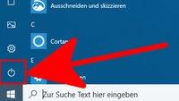 Lösung: Windows 10 fährt nicht runter
