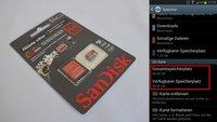 SanDisk SDXC: 64 GB-micro SD-Speicherkarte läuft in vielen Android-Geräten