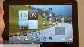 """Acer Iconia Tab A200: Das """"dicke Ding"""" im Video-Rundgang"""