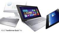 ASUS Transformer Book Trio: Android-Tablet und Windows 8-Laptop in einem
