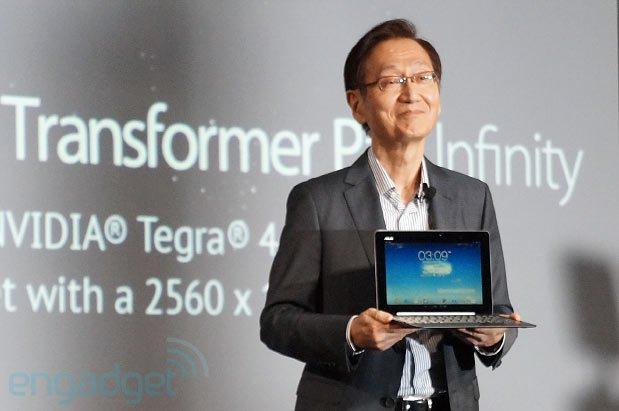 ASUS Transformer Pad Infinity: 10 Zoll-Tablet mit Tegra 4 und 4K-Ausgabe vorgestellt