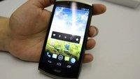 Acer CloudMobile: Design-Smartphone vorbestellbar