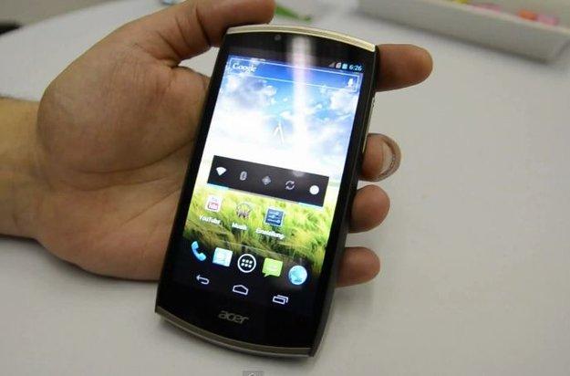 Acer CloudMobile: Schönes Dual Core-Smartphone angeschaut [CeBIT 2012]