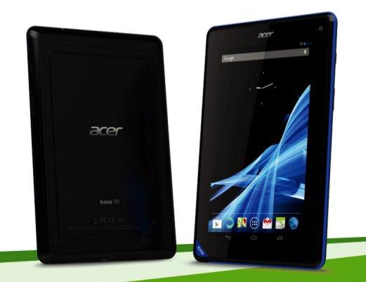 Acer Iconia B1: Discount-Tablet im Video-Kurztest und Nexus 7-Vergleich