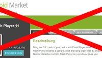 Adobe Flash: Wird der mobile Player eingestellt? [Update: JA!]