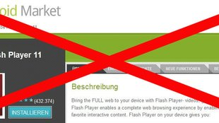 Adobe Flash: Wird der mobile Player eingestellt? [Update: JA!]