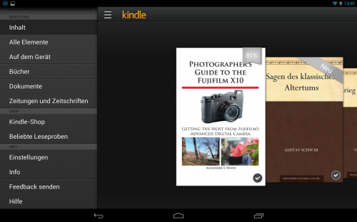 Kindle for Android (free) qr code