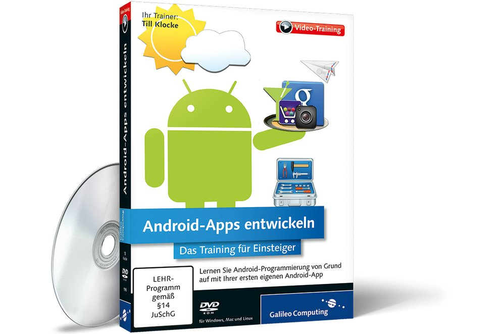 Android-Apps entwickeln: Neues Videotraining für Einsteiger [Update: Gewinnspiel beendet]
