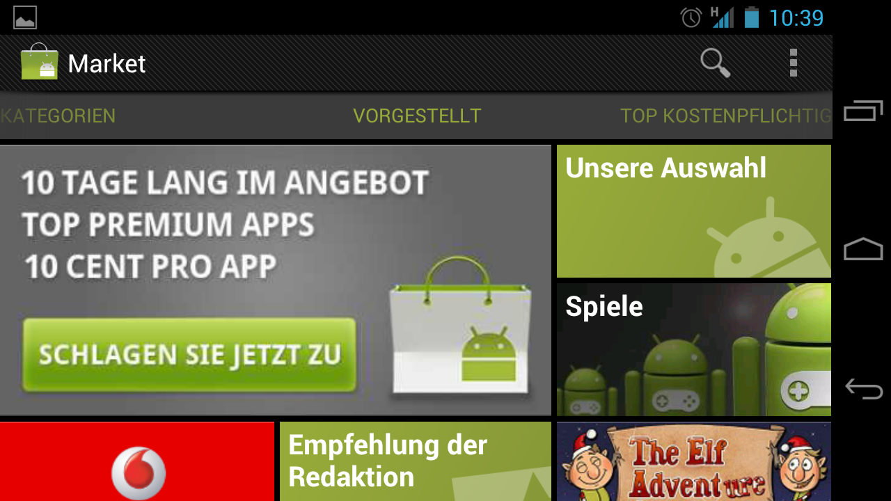 how to download free from android market