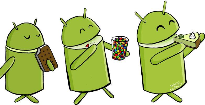 Key Lime Pie: Name der nächsten Android-Iteration im Comic bestätigt