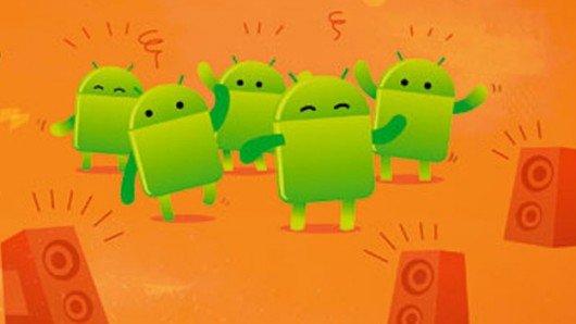 Android: Auf 72 Prozent der aktuell verkauften Smartphones