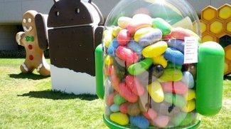 Android-Versionsverteilung: Jelly Bean auf über 50% aller Geräte