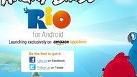 Angry Birds Rio: Exklusiv im Amazon Appstore