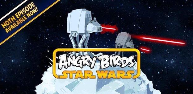Angry Birds Star Wars: 20 neue Hoth-Level sind da