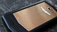 Aston Martin Aspire: Luxusmarke veröffentlicht Edel-Smartphone