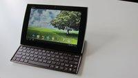 ASUS Eee Pad Slider: Test des Android-Tablets mit Schiebe-Tastatur
