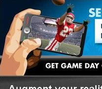 Augmented Reality-App von USA Today für den Super Bowl