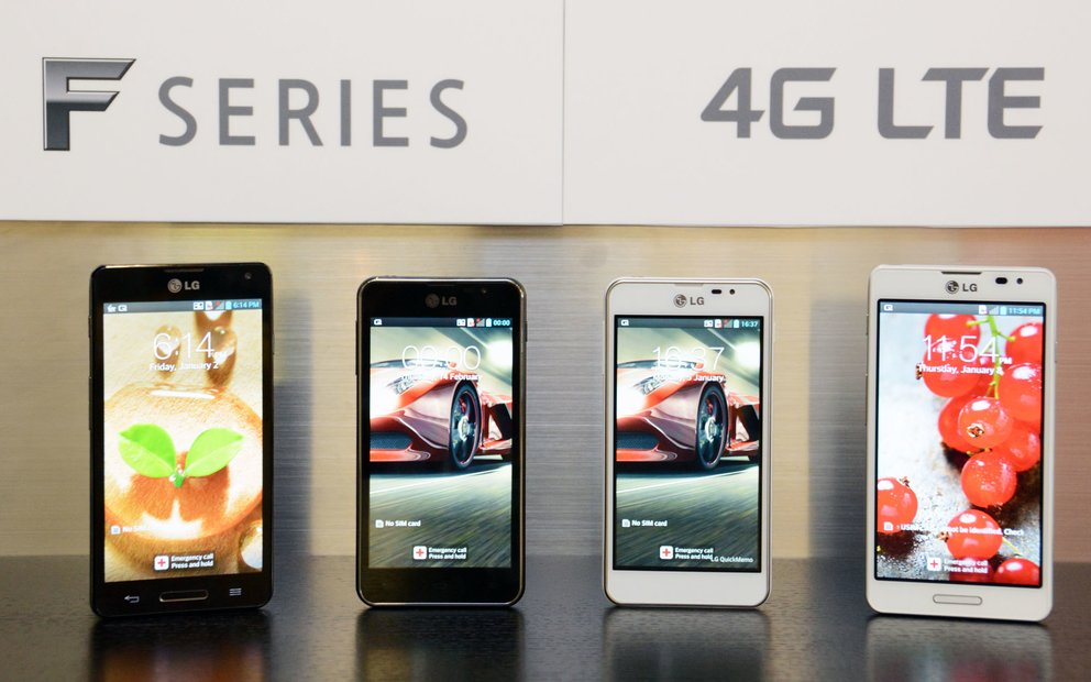 LG: LTE-Smartphones Optimus F7 und F5 vorgestellt