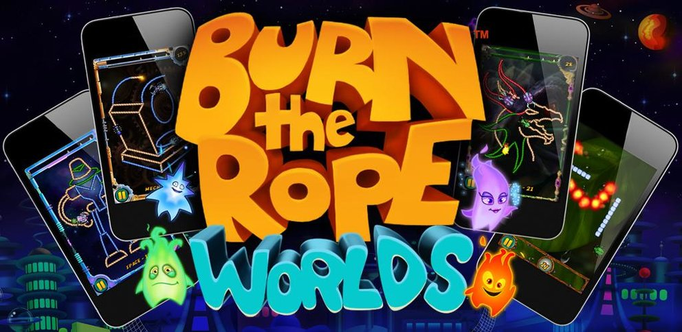 Burn the Rope: Worlds ab sofort kostenlos im Android Market