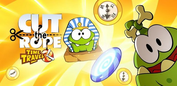 Cut the Rope: Time Travel im Play Store gelandet