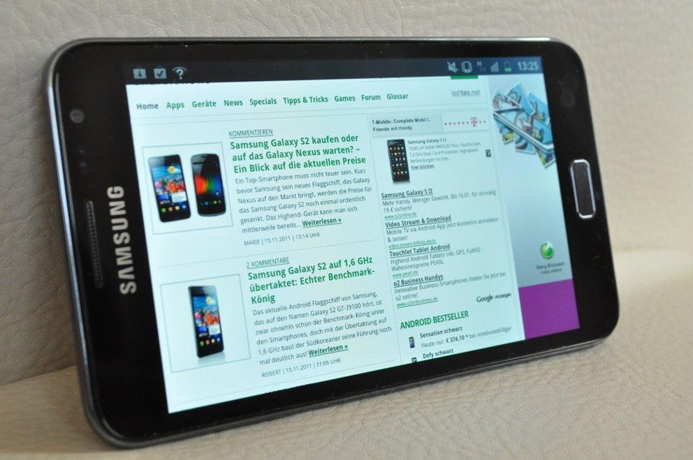 Samsung Galaxy Note: Android 4.0 kommt im 2. Quartal mit Premium Suite