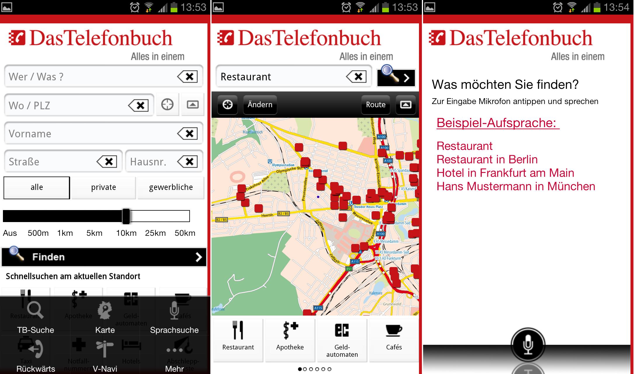 Das Telefonbuch: Nummern- und Adressverzeichnis als Android-App – GIGA