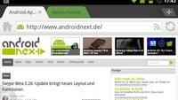 Dolphin Browser HD 7.0: Cloud-Sync und verbessertes Interface