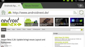 Dolphin Browser HD 7.0: Cloud-Sync und verbessertes Interface