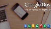 Google Drive: App-Update bringt Datei-Download und Dokumenten-Scan