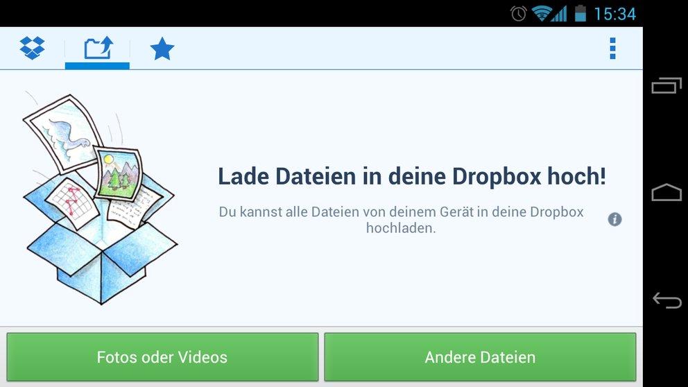 Dropbox: App-Update für Android 4.0 Ice Cream Sandwich schon ausprobieren [Download]