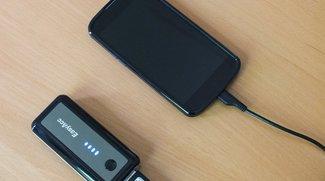 EasyAcc 5600mAh im Test: Mobiles Akkupack vervielfacht Smartphone-Laufzeit