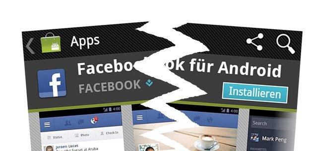 Facebook: Zuckerberg grollt, Android-App wird eingestellt