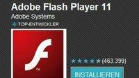 Adobe Flash Player: Kleines Update, noch kein Support für Ice Cream Sandwich