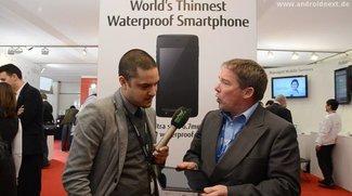 Fujitsu Stylistic M532: Wasserdichtes Tegra 3-Tablet für Business-Kunden [MWC 2012]