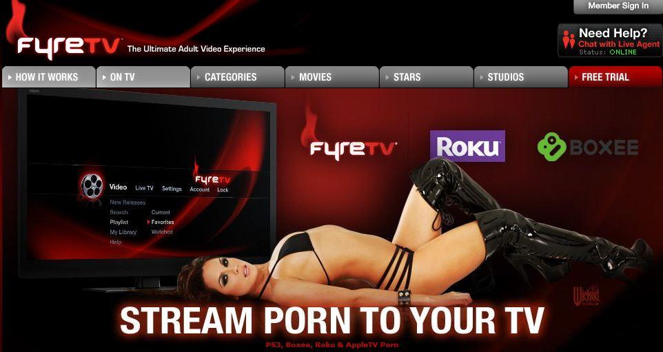 Porn streaming app