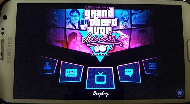 GTA Vice City für Android: Gameplay-Videos vom Nexus 4, Galaxy S3, Note 2