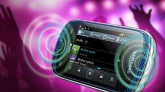 Samsung Galaxy Music: Zeigt sich auf Promofotos