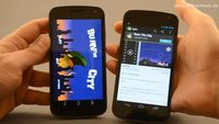 Galaxy Nexus: Android Beam via NFC ausprobiert [Video]