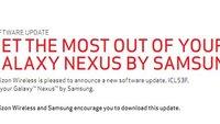 Galaxy Nexus: Android 4.0.2-Update rollt OTA aus