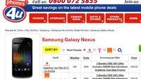 Galaxy Nexus: Android 4.0-Smartphone in UK verfügbar
