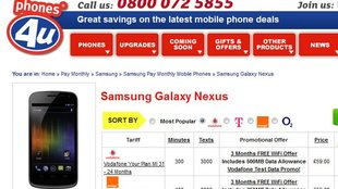 Galaxy Nexus: Android 4.0-Smartphone in UK verfügbar
