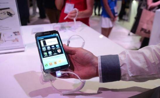Samsung Galaxy Note 2: 5,5-Zoller im Hands-On [IFA 2012]