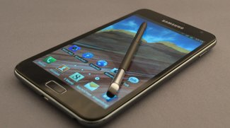 Samsung Galaxy Note: Ice Cream Sandwich dank CyanogenMod 9-Alpha
