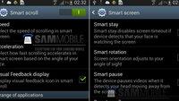 Samsung Galaxy S4: Smart Scroll und Smart Pause in falschen Screenshots