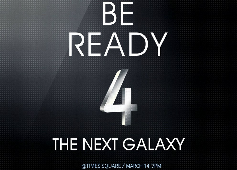 Samsung Galaxy S4: Livestream, Launch-Party auf dem Times Square