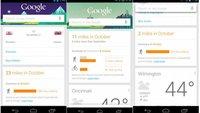 Google Now: Nun mit Pedometer-Zahlen zu Lauf- und Radelstrecken