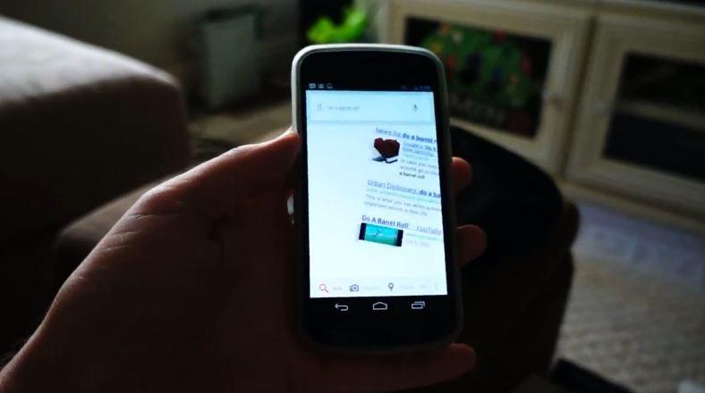 Jelly Bean-Easter Egg: Google Now kann die Barrel Roll