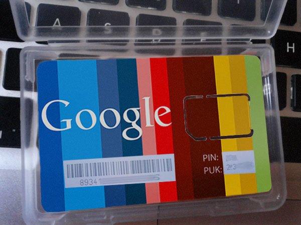 Google SIM-Karten in Spanien: Es muy sorprendente! [Update: Fake]